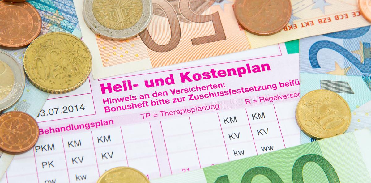 Neuer Grenzwert für Heil- und Kostenplan
