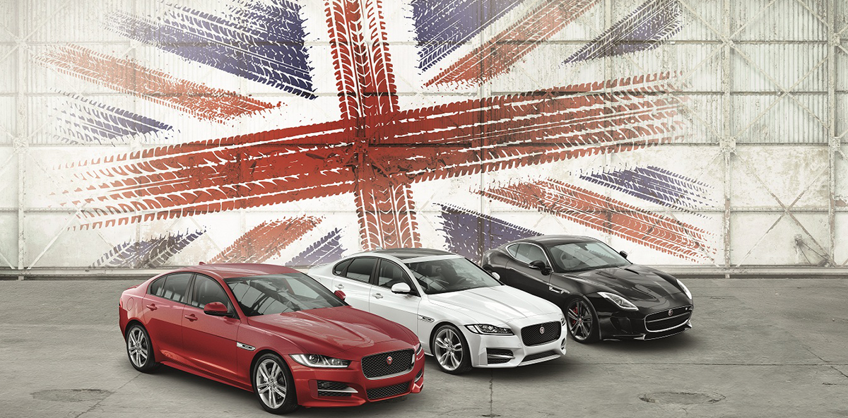 Neue British Design Edition für Jaguar XE und XF