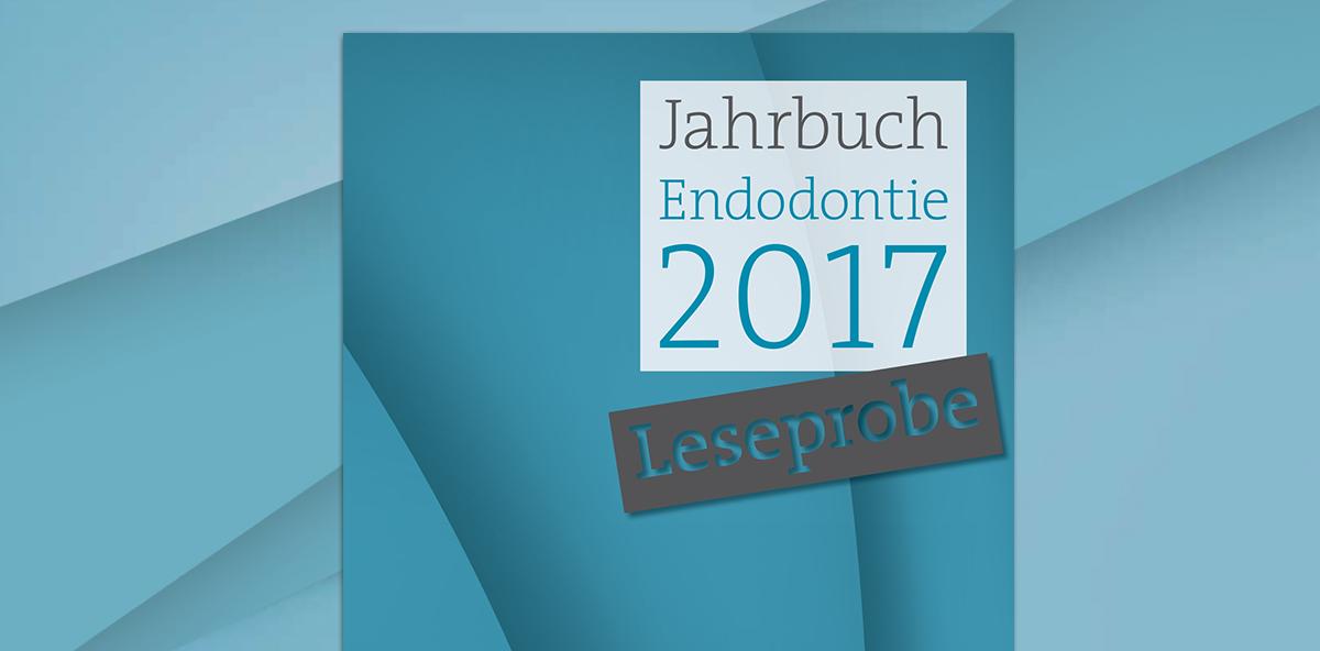 """Soeben erschienen: Das """"Jahrbuch Endodontie 2017"""""""