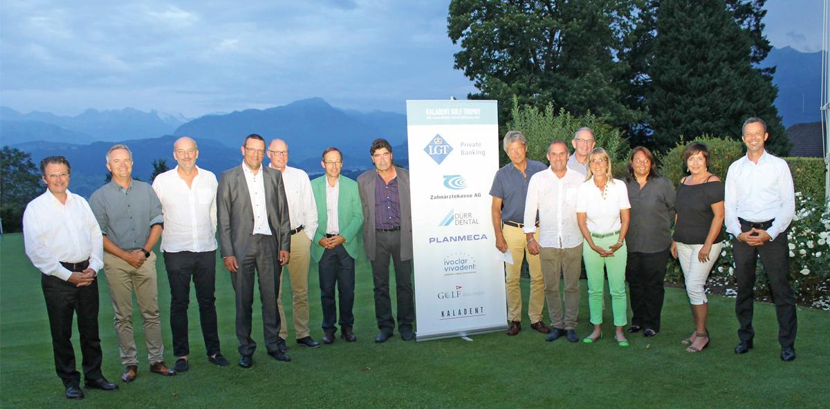 KALADENT Golftrophy 2016 am Dietschiberg in Luzern