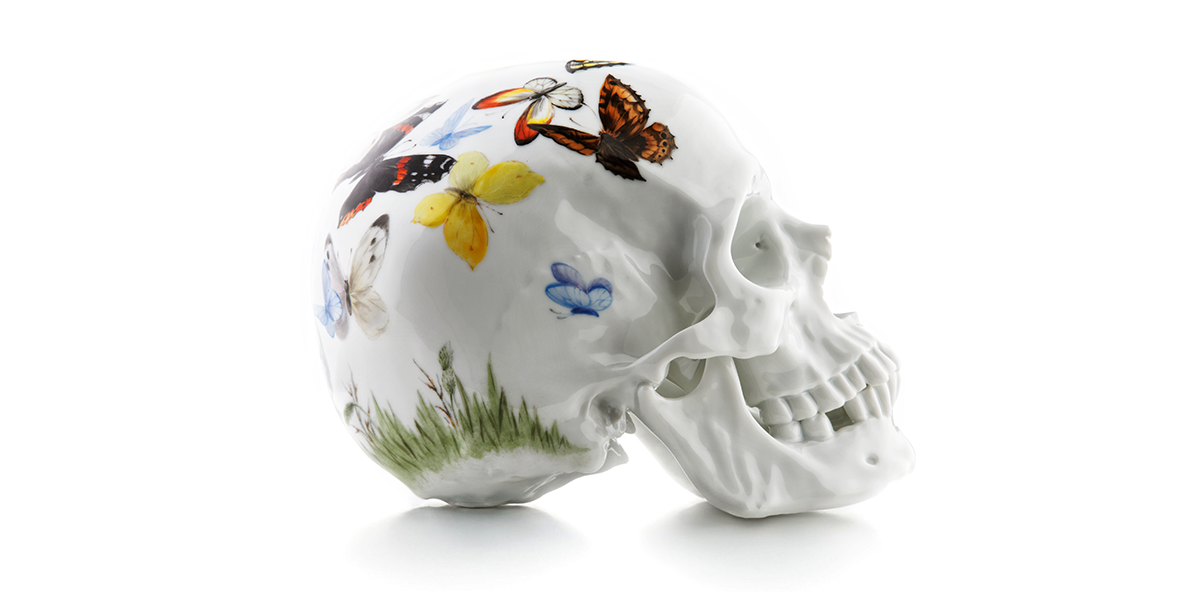 Skull Edition: Eine Allianz von Porzellan und Design