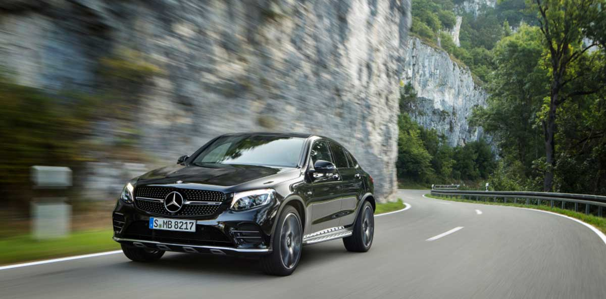 Das neue Mercedes-AMG GLC 43 4MATIC Coupé