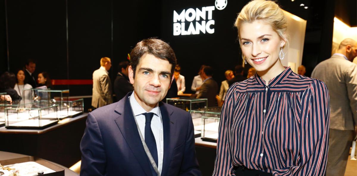 Lena Gercke wird Markenbotschafterin für Montblanc Deutschland