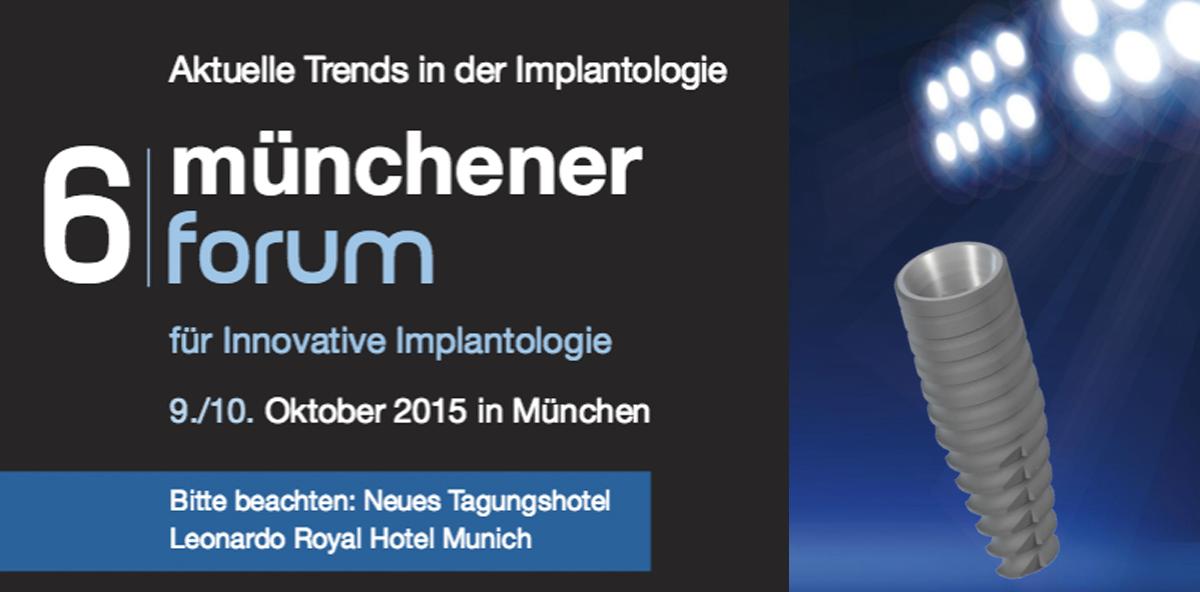 Aktuelle Trends der Implantologie in München