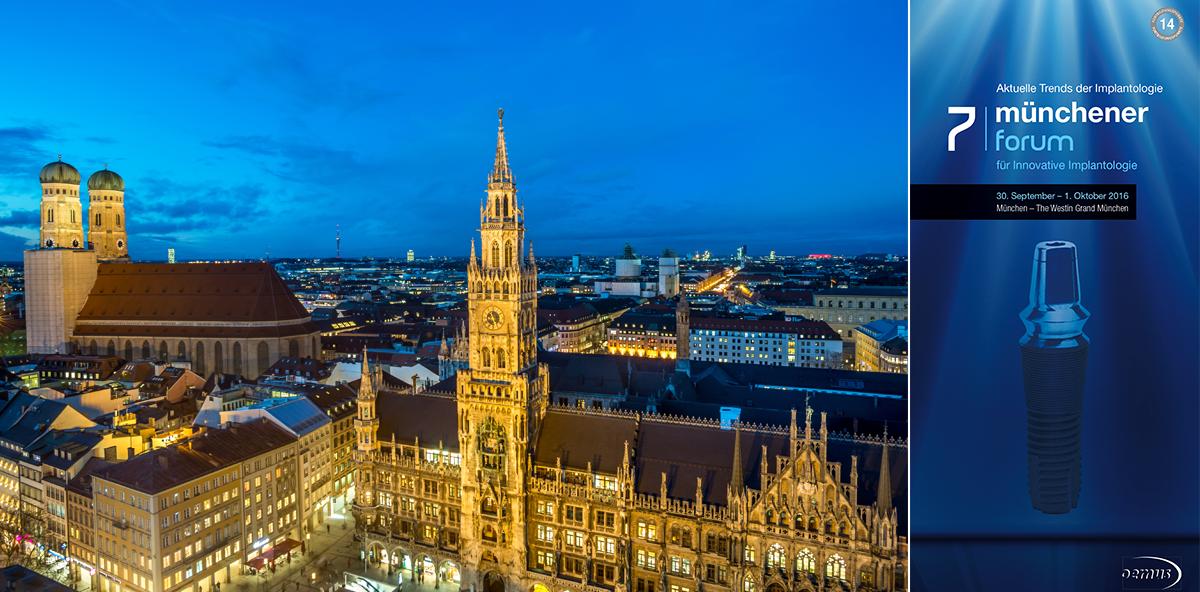 Münchener Forum für Innovative Implantologie diesmal in Kooperation mit der DGZI