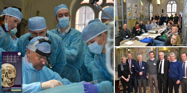 Humanpräparate-Kurse für Implantologen in Berlin