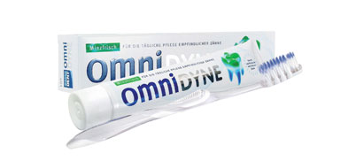 Omnidyne & Omni Ice Brush super sensitive