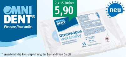 Omniwipes wet & easy