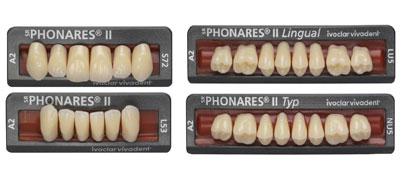 SR Phonares II, SR Phonares II Typ und SR Phonares II Lingual