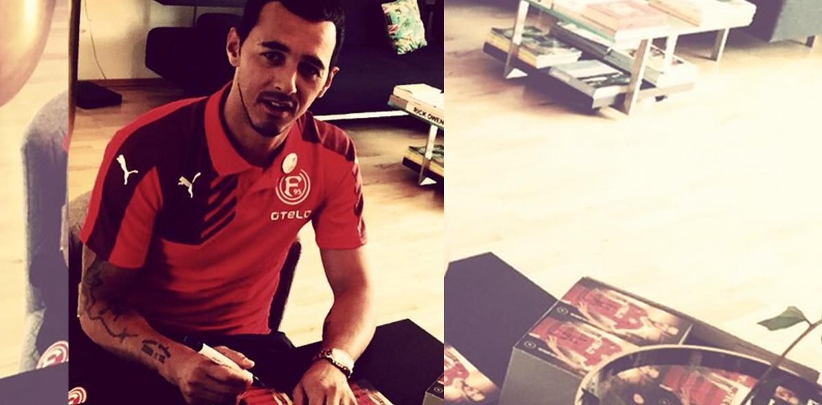 Düsseldorf-Kicker Pinto: Nach Kieferbruch Probleme beim Essen