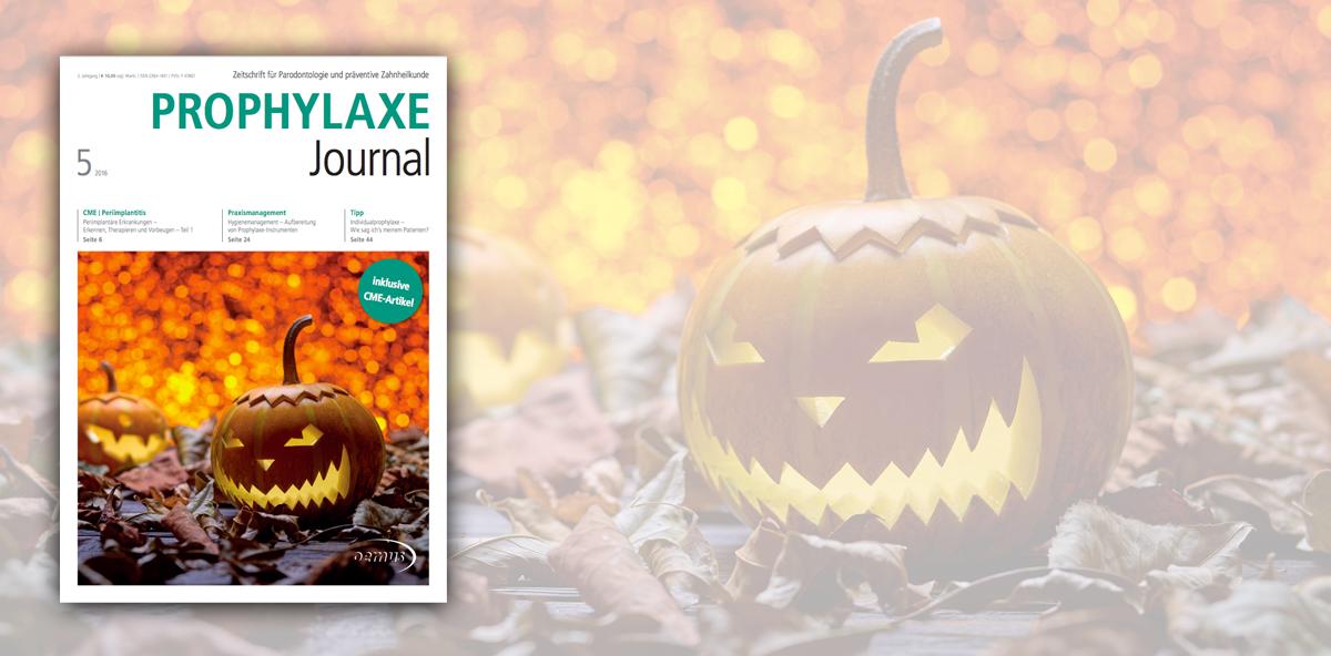 Die Oktober-Ausgabe des Prophylaxe-Journals ist online!