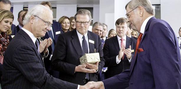 Schwedischer König besuchte Planmeca