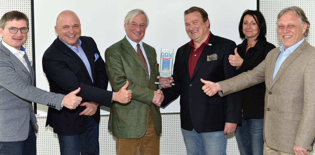 GDDP – Auszeichnung für die Firma Pluradent Austria GmbH als Jahresbester