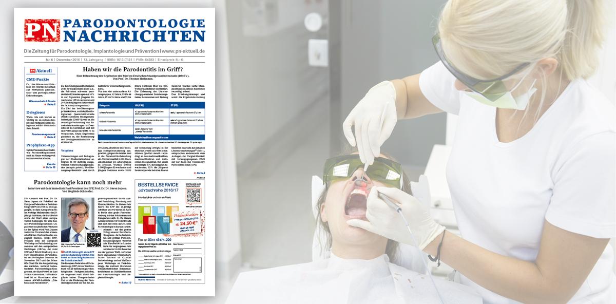 """Mit den """"PN Parodontologie Nachrichten"""" CME-Punkte sammeln"""