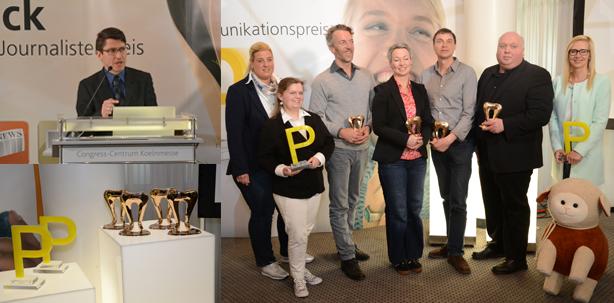 proDente verleiht Journalisten- und Kommunikationspreis 2015