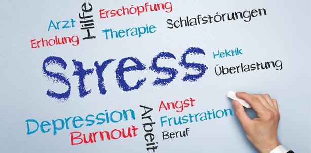 Resilienz reduziert den Stresspegel spürbar