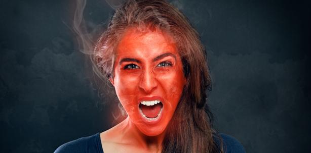 Lästige Glüh-Birne – Warum jemand rot wird und was dagegen hilft