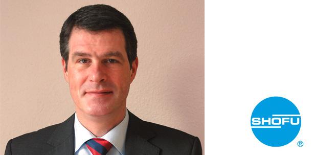 Martin Hesselmann ist neuer europäischer Geschäftsführer von Shofu Dental