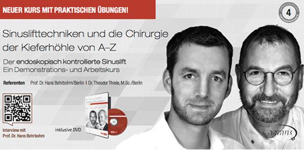 """Neu: """"Sinuslifttechniken und die Chirurgie der Kieferhöhle von A–Z"""""""