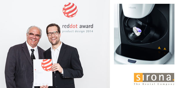 Red Dot Design Award 2014: Erneuter Designpreis für den innovativen inEos X5