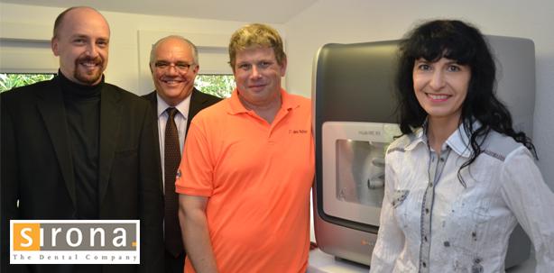 Mehr Freiheit im Labor – Sirona präsentiert neue Schleif- und Fräseinheit