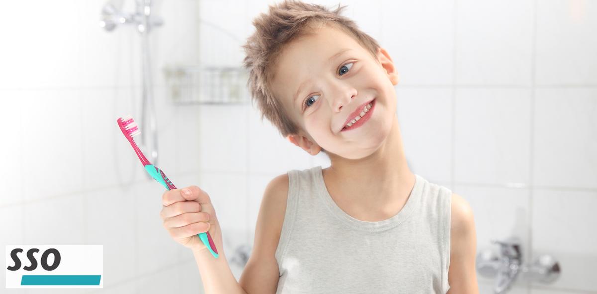 SSO: Broschüre für saubere Kinderzähne