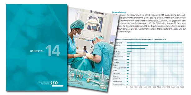 SSO-Jahresbericht 2014 erschienen