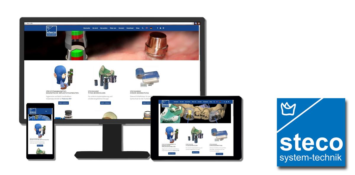 Steco präsentiert neue Webseite
