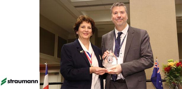 Straumann erhält prestigeträchtigen Award der Pierre Fauchard Academy