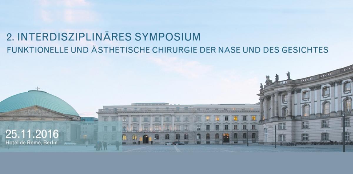 Symposium für Chirurgie der Nase und des Gesichts im November in Berlin