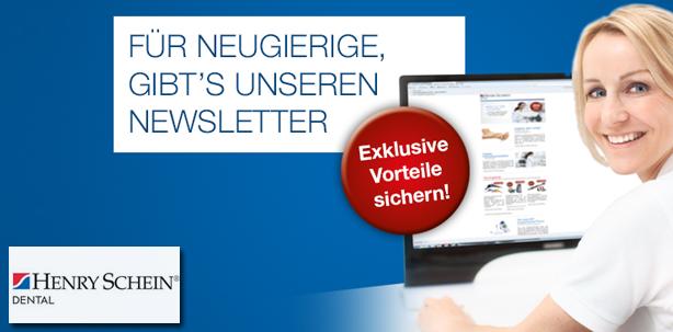 Neuer Newsletter von Henry Schein Dental