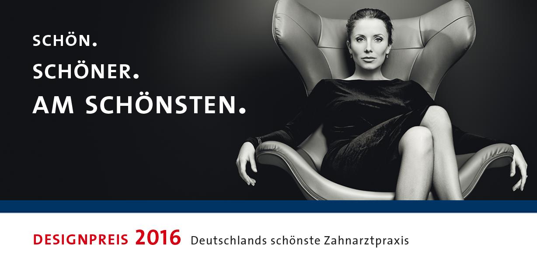 """ZWP Designpreis 2016: """"Deutschlands schönste Zahnarztpraxis"""" wieder gesucht"""