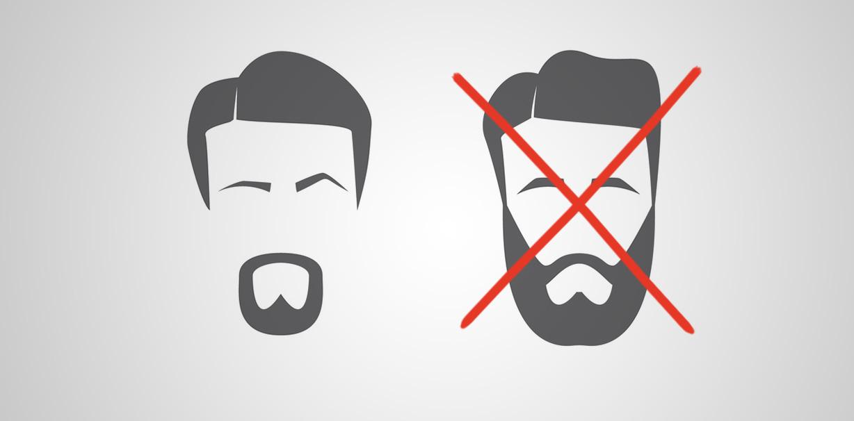 Der letzte Schrei bei Hipstern: Wie wäre es mit einem Zahnarzt-Bart?