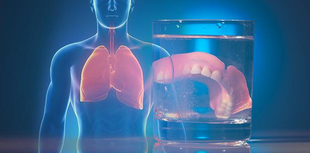 Lungeninfekt: Nächtliches Tragen der Prothese erhöht Risiko