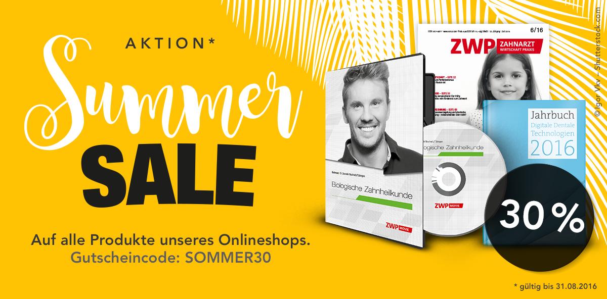 www.oemus-shop.de: Bis 31. August bestellen und bares Geld sparen!