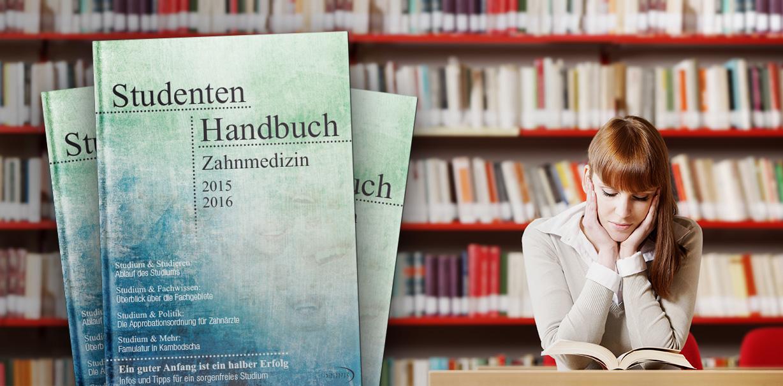Ersti-Ratgeber: Neues Studentenhandbuch Zahnmedizin erschienen