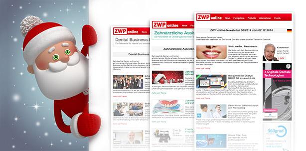 Auch über die Feiertage mit ZWP online informiert