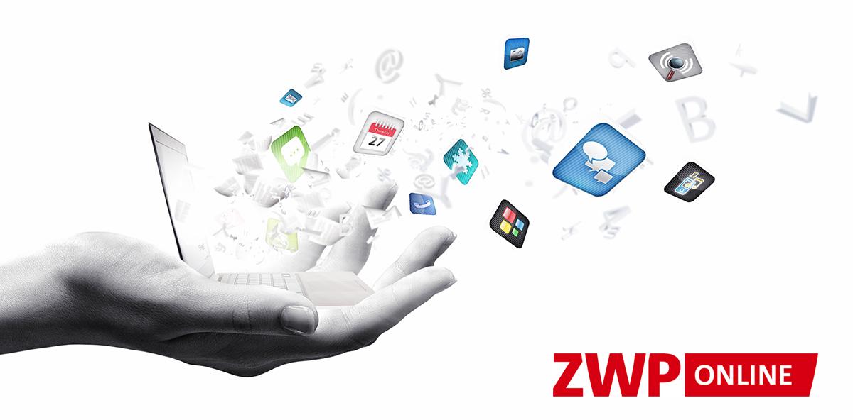Nutzerzugriffe über soziale Netzwerke auf ZWP online