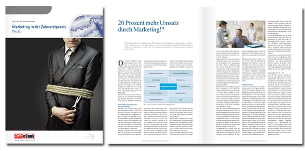 """Fortsetzung erschienen: eBook """"Marketing in der Zahnarztpraxis - Teil 2"""""""