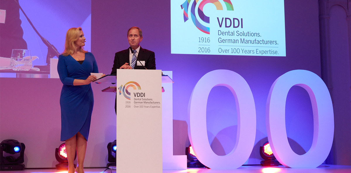 """VDDI wird 100 – """"Herz und Motor der Internationalen Dental-Schau"""""""