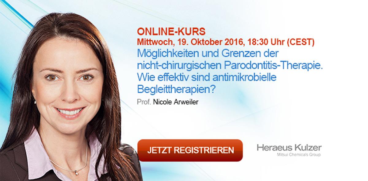 Möglichkeiten und Grenzen der nicht-chirurgischen Parodontitis-Therapie