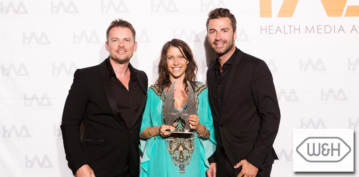 W&H gewinnt den Health Media Award 2016