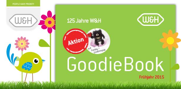 GoodieBook: Ein frischer Start in den Frühling mit W&H