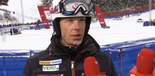 Österreichische Skilegende Thomas Sykora schlägt sich Zahn aus