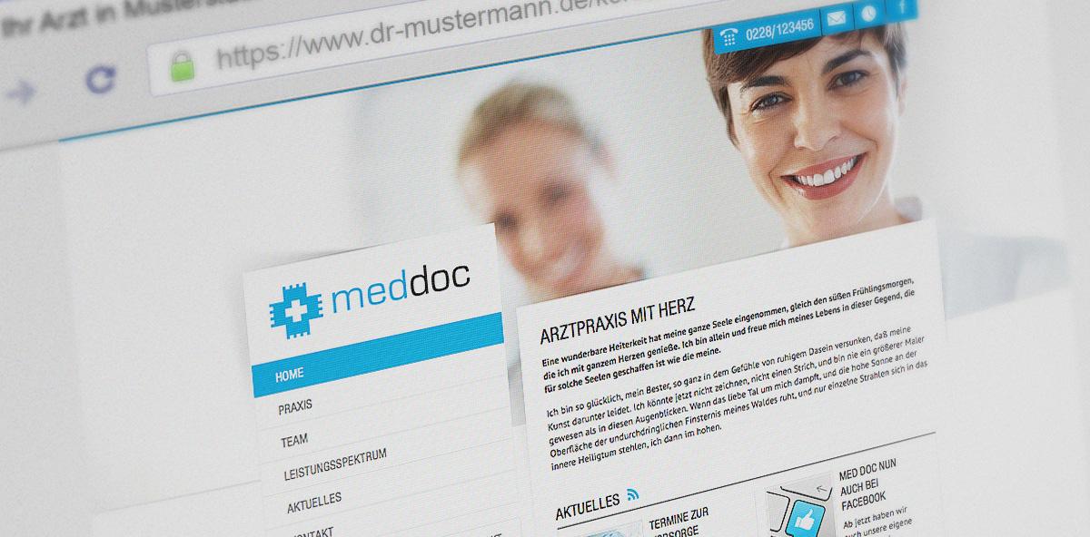Online Patientendaten schützen und erfolgreich bei Google agieren