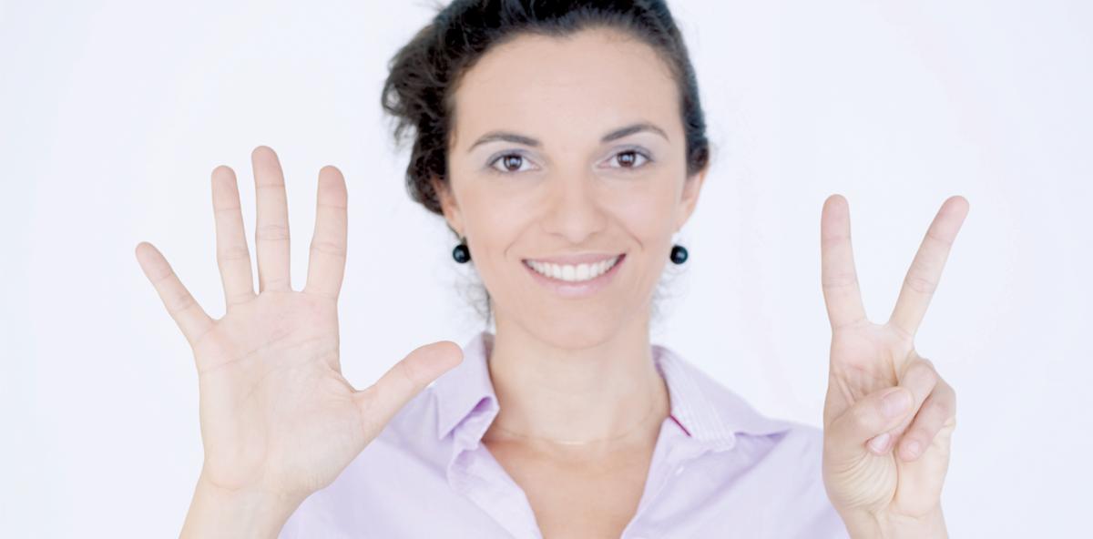 Die sieben Spitzeninstrumente der Überzeugung