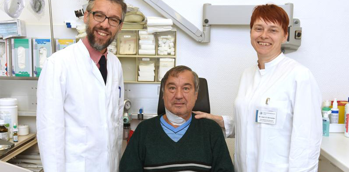 Erster Zungenschrittmacher implantiert