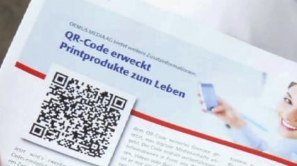 QR-Code erweckt Printprodukte zum Leben