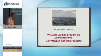 """Ausschnitt 5. Kongress """" Digitale Dentale Technologien"""", Hagen, Dr. Jürgen Reitz"""