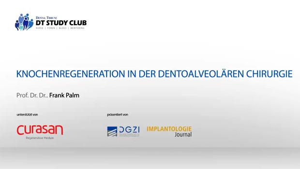 Curasan Webinar: Moderne Knochenregenerationsmaterialien